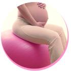 Cvičení na balonech pro těhotné