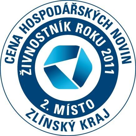 2. místo - Živnostník roku ZL kraje