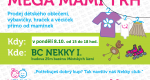 Podzimní MEGA MAMI TRH v BC Nekky – tentokrát v pondělí!