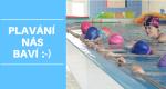 ZÁLOHY na kurzy plavání v létě a od září …