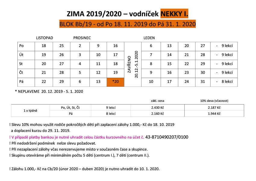 VODNICEK-PODZIM ZIMA 2019 NEKKY I