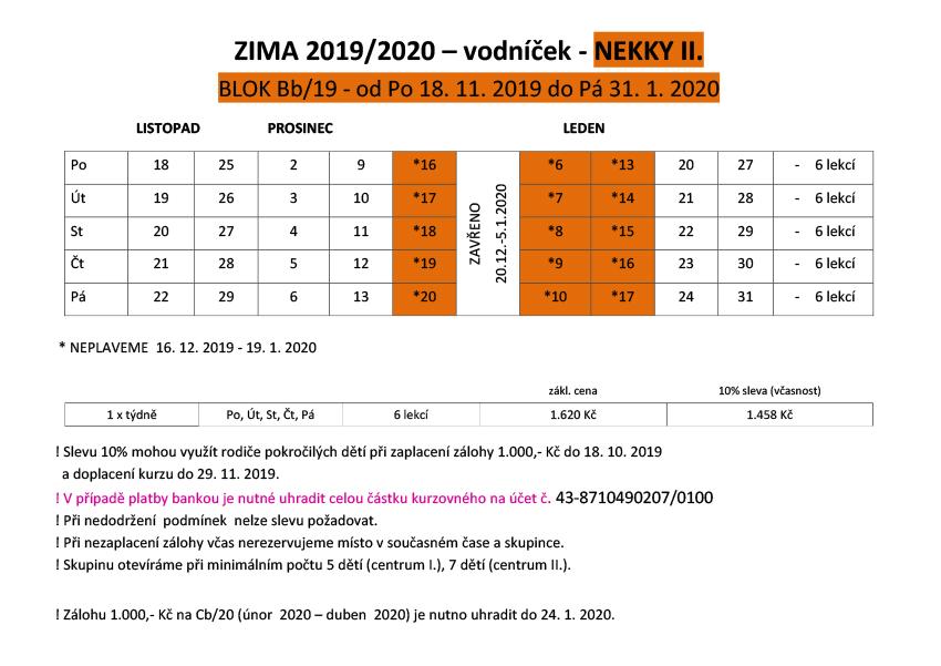 VODNICEK-PODZIM ZIMA 2019 NEKKY II
